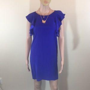 Amanda Uprichard purple silk dress NWT XS/P